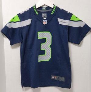 Seattle Seahawks Russell Wilson Youth Jersey
